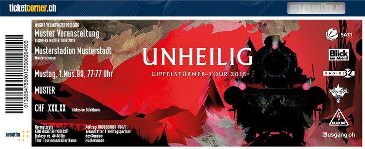 #Unheilig sind auf grosser Abschiedstournee und gastiern selbstverständlich am 25.4.15 im #Hallenstadion #Zürich. Tickets: http://ow.ly/FAnja