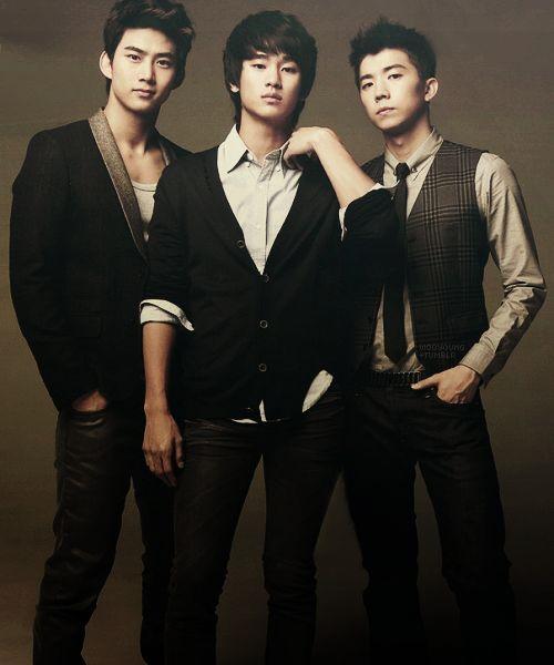 Taecyeon, Kim Soo Hyun, and Wooyoung <3