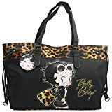#4: Betty Boop ベティブープ ヒョウ、 女性用バッグ ハンドバッグ ショルダーバッグ 買い物客 トート