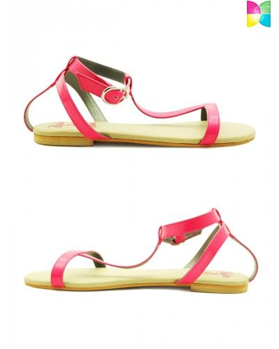 Irina Slick Pop Sandals by Rhythm and Shoes