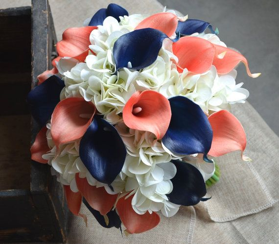 Hey, I found this really awesome Etsy listing at https://www.etsy.com/listing/472995888/real-touch-calla-lilies-hydrangeas