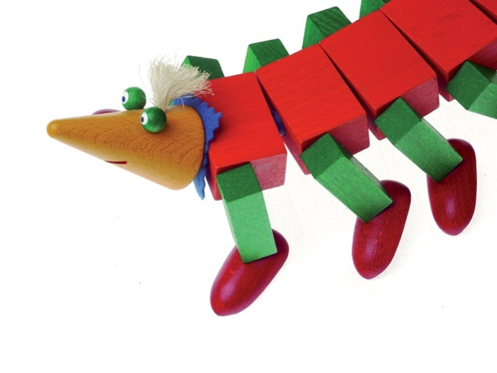 Kellner Steckfiguren's Wooden Stick Figure Play Set > pucciManuli