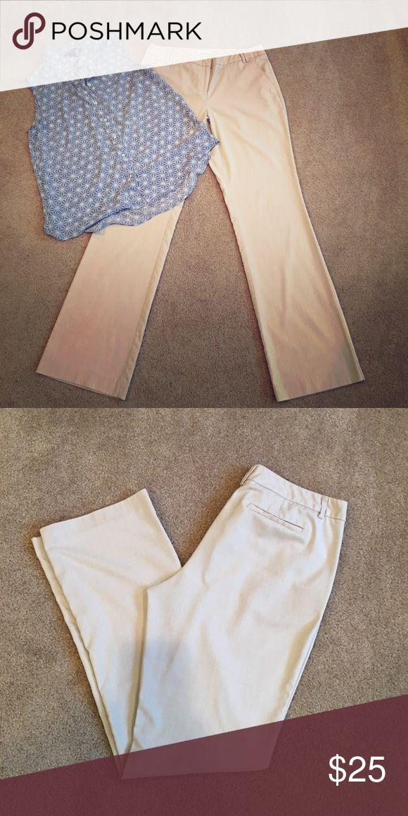 Women's New York and Co. Khaki Slacks Super comfortable and professional khaki slacks. Size 12 Tall. New York & Company Pants Trousers