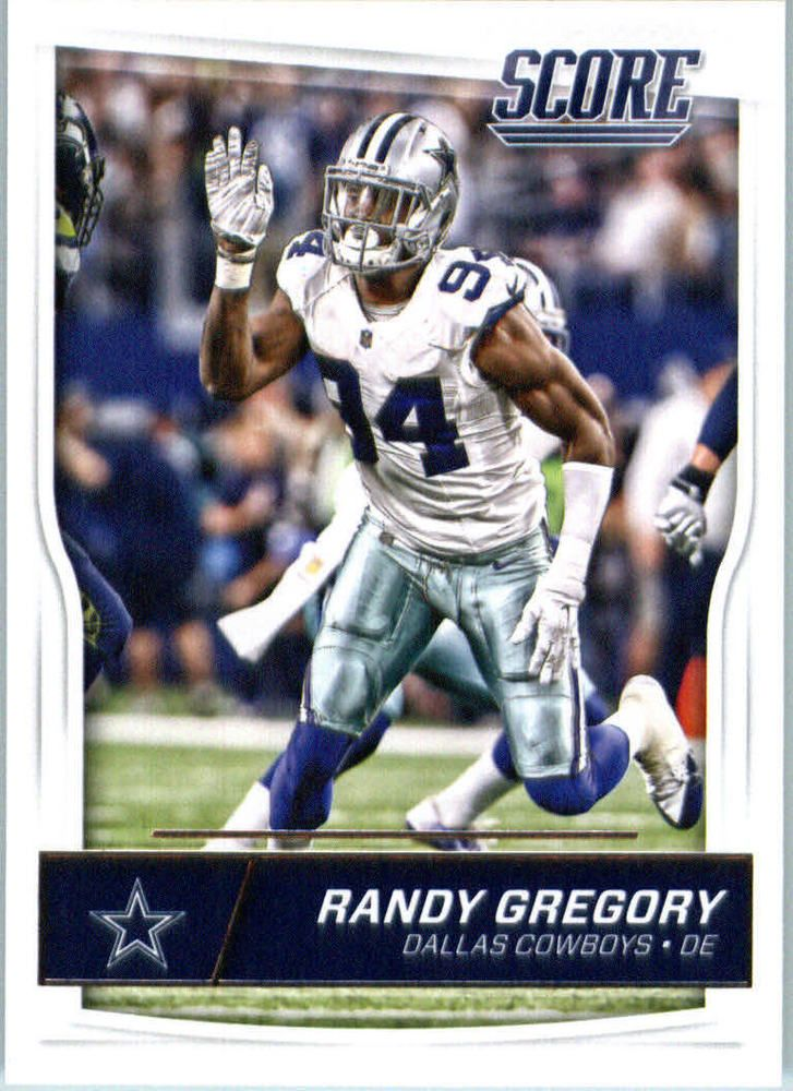 Randy Gregory 2016 Score #94 Dallas Cowboys Nebraska Cornhuskers