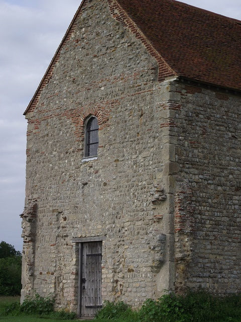 Roman bricks and stones certainly came in handy for the construction of The Chapel of St Peter-on-the- Wall, Bradwell-on-Sea, Essex, in 654 AD by St Cedd. One of the earliest churches in Britain.