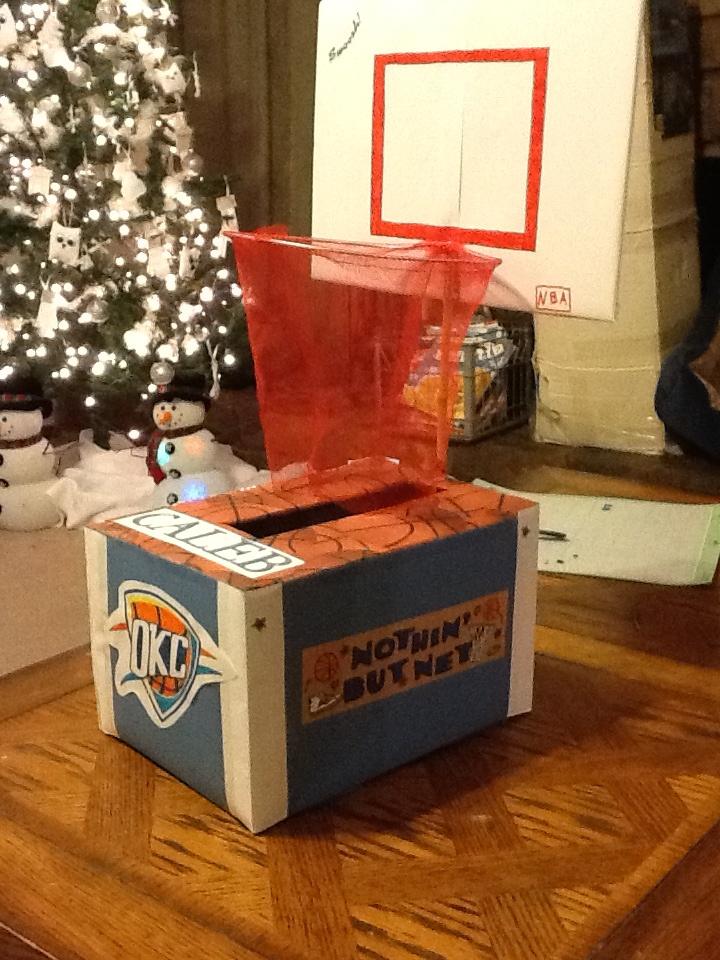 Valentine box OKC Thunder basketball | My creative side ...
