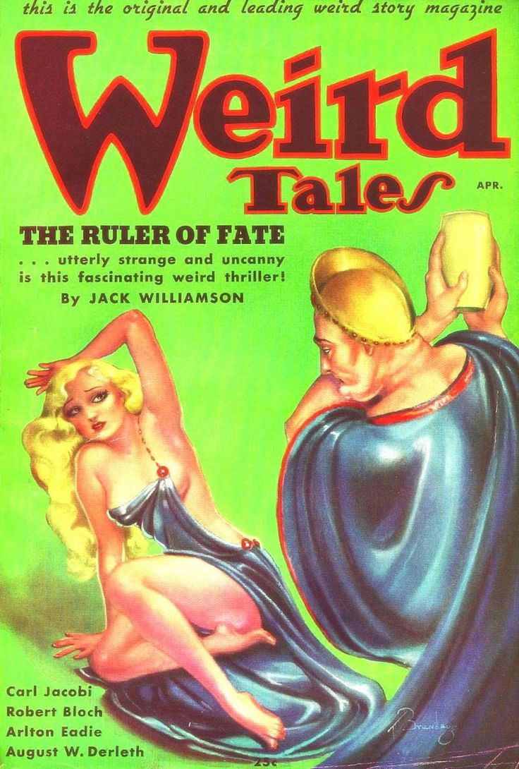 Margaret Brundage Broke Two Taboos At The Same Time With Her Iconic Covers  For Weird Tales