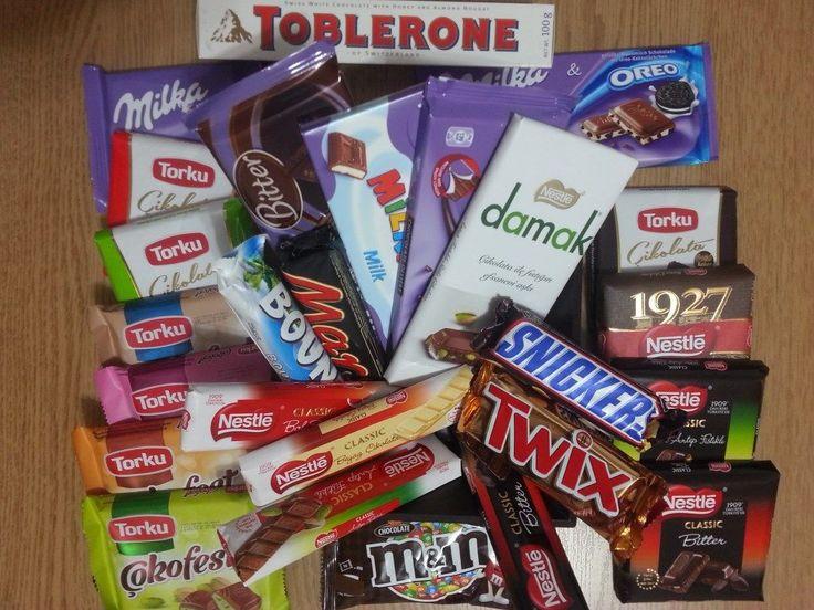 Çikolata Limanı'nı tercih etnek için tatlı bir sebebiniz var ♥  Ekonomik Sütlü - Bitter Çikolata Paketiyle; 9 farklı marka 26 çeşit çikolata kargo dahil 55₺  www.cikolatalimani.com