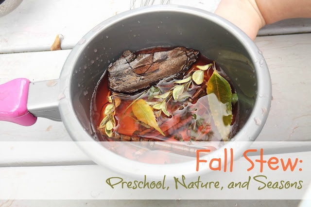 Momma C Designs: Fall Stew: Preschool, Nature and Seasons