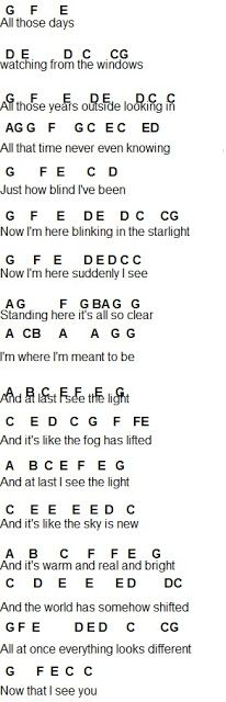 Flute Sheet Music: I See The Light Disney's: Tangled