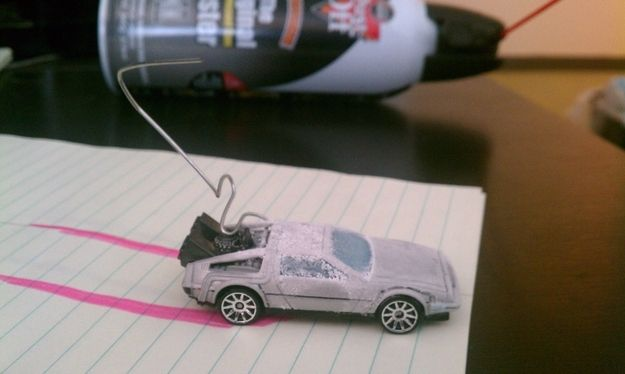 Recreate scenes from Back to the Future. | 27 Pointless Projects To Do When You're Bored At Work