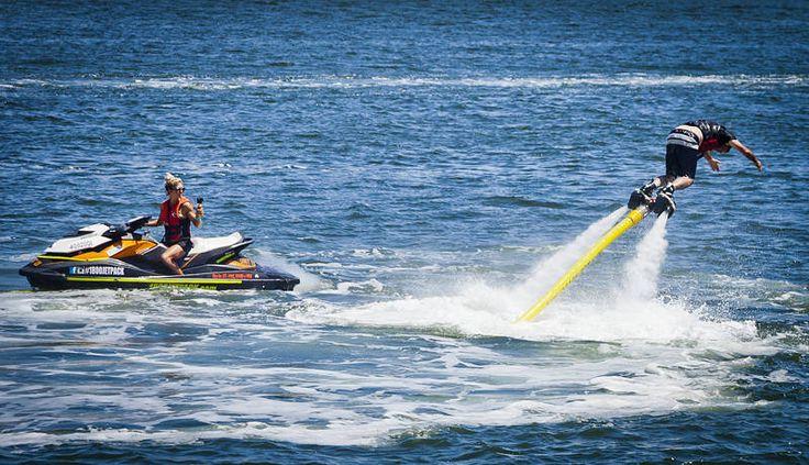 Darwinism in Action. #watersport #hydrojetsurf #darwinawards http://jason.bennee.com/blog/2017/09/latest-mayhem/