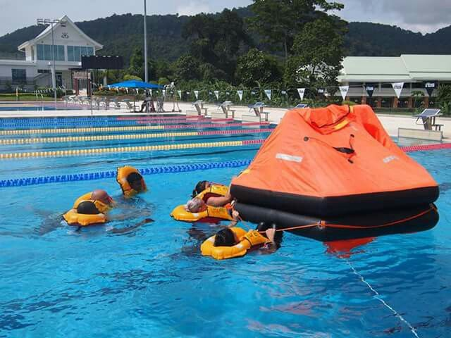 Sea Survival training in Phuket, Thailand. Receive MCA certified STCW2010 #superyacht #training in a tropical #holiday destination www.sealync.com