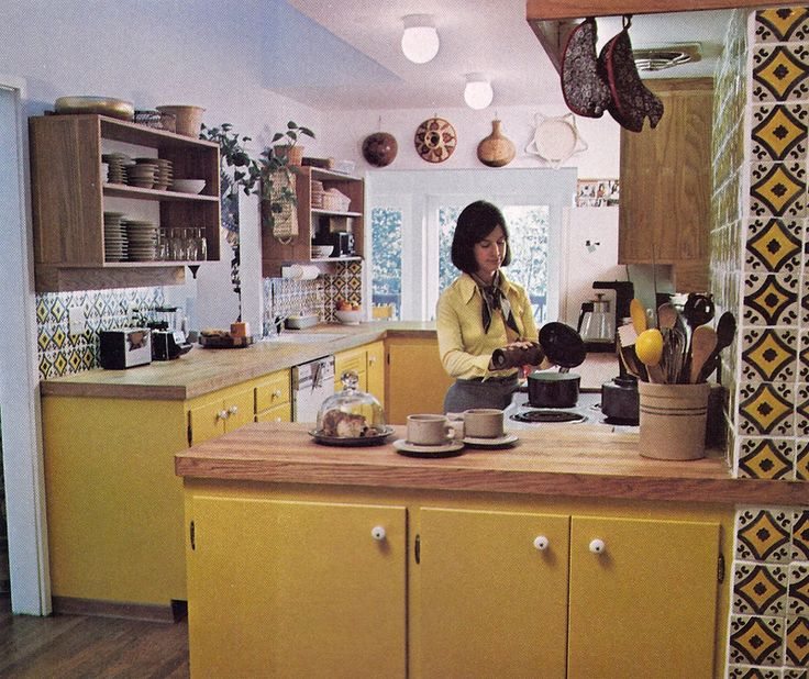 Lora S Vintage Style Kitchen Makeover: 164 Best Images About Ideas For A 70s Inspired Kitchen On Pinterest