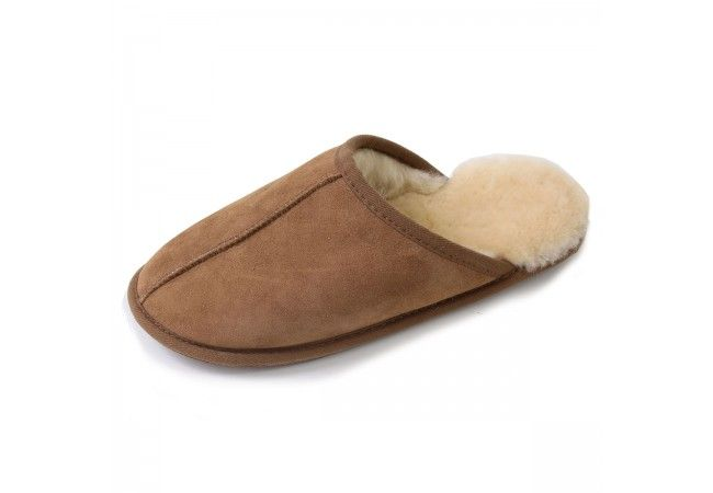 Chaussons mules homme