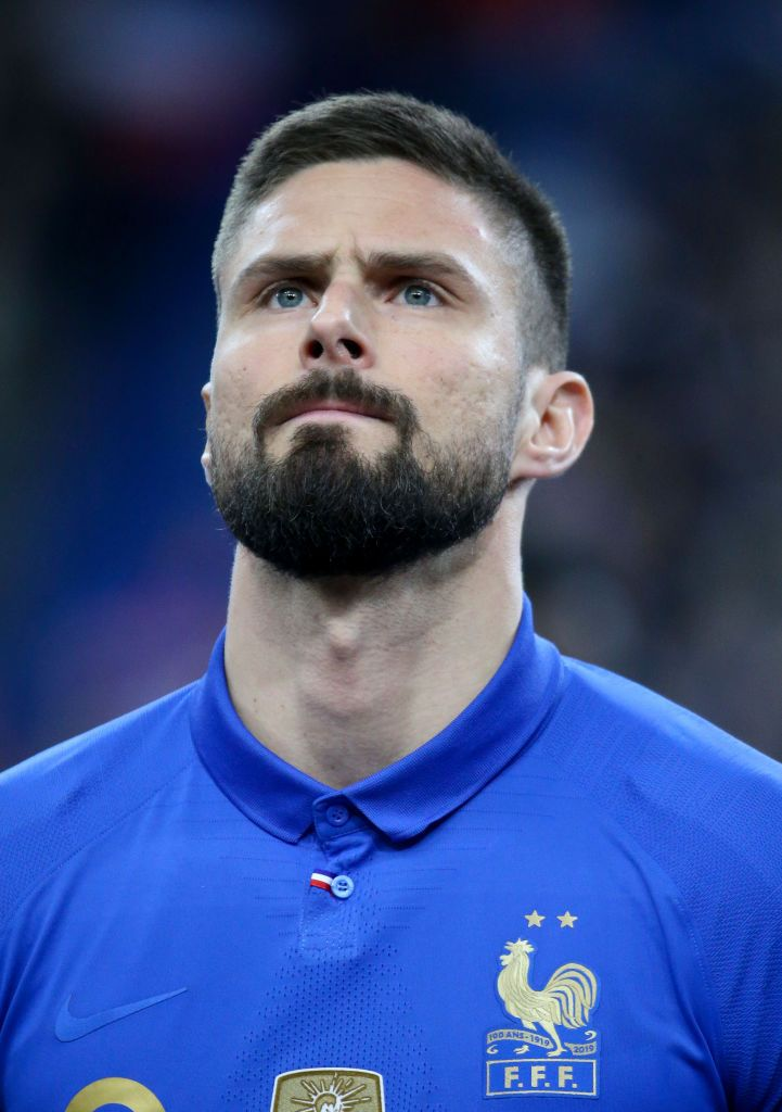 Olivier Giroud Of France Poses Before The 2020 Uefa European Mens Hairstyles New Hair Do Poses