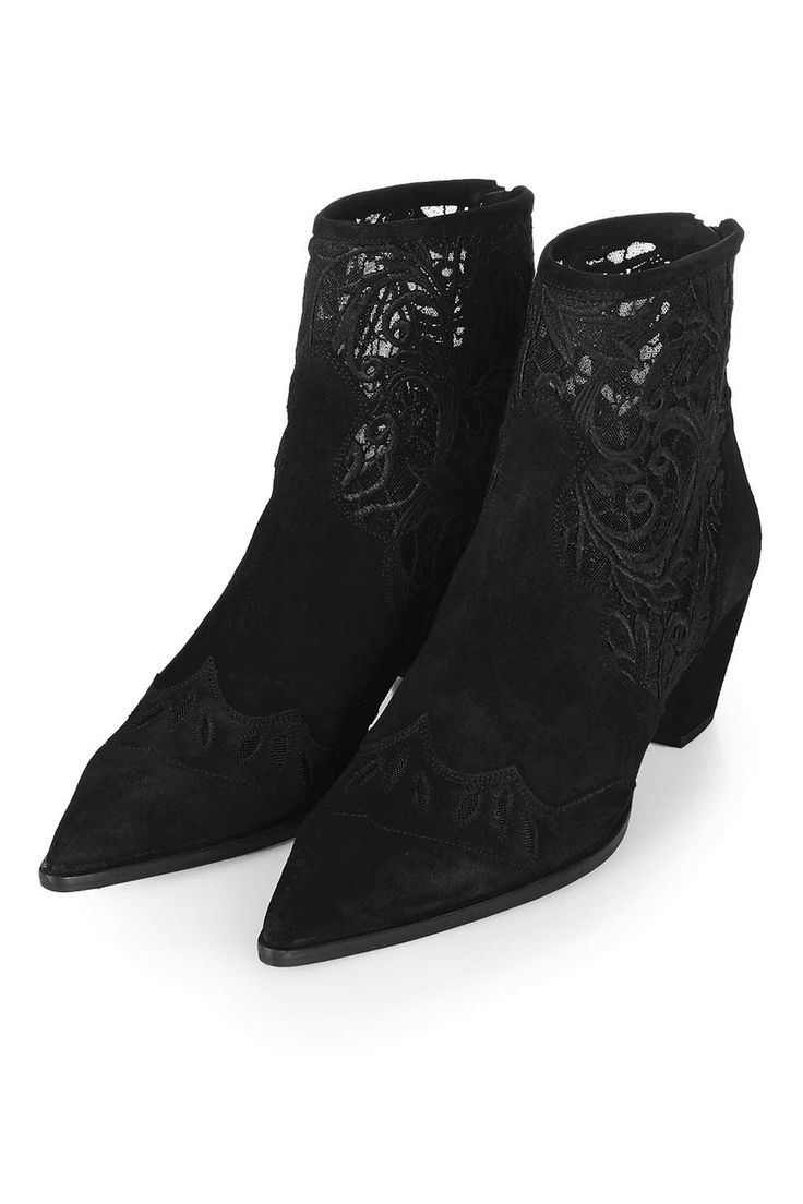 ALEGRA Lace Ankle Boots - Shoes- Topshop USA