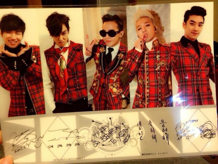 BIGBANG | VIP Japan Fan Club Birthday Card