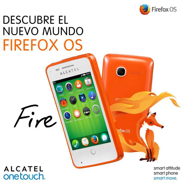 Conoce el Smartphone basado en el Firefox Operative System de Mozilla: ALCATEL ONETOUCH FIRE.