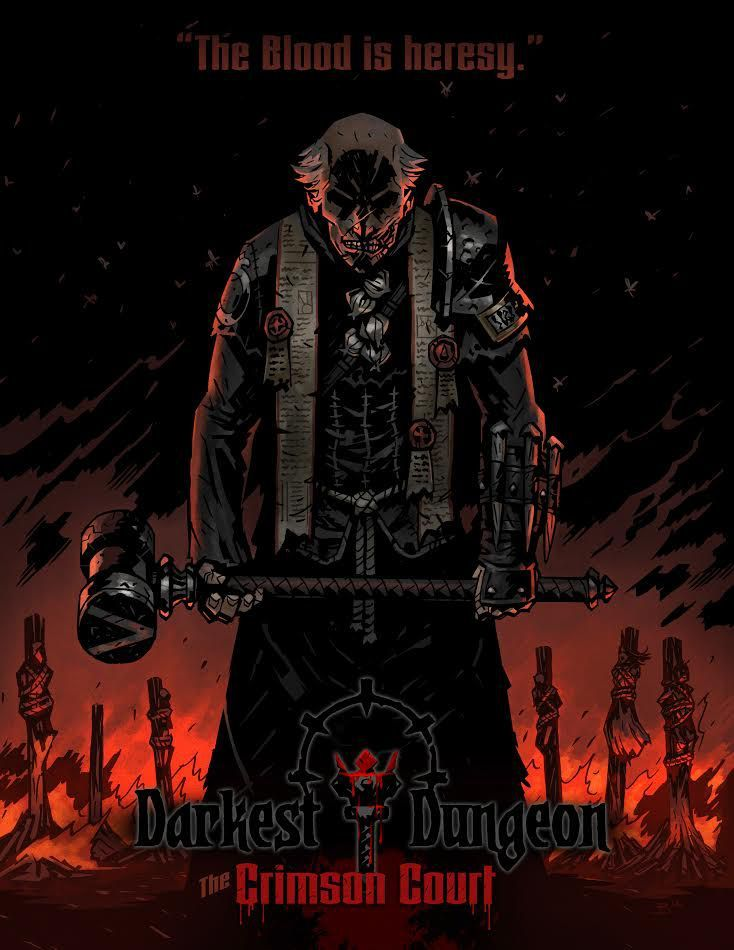 Meet the vampire hunter thats coming for you in Darkest Dungeons DLC