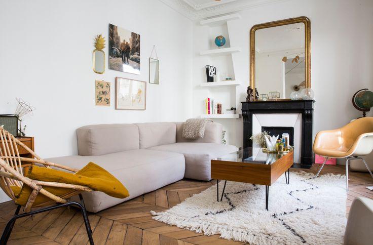 Visite guidée du bel appartement de la créatrice de Balzac Paris !