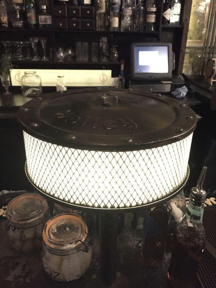 Auto air filter lamp. #Custom
