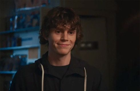 evan peters winking gif - Google Search