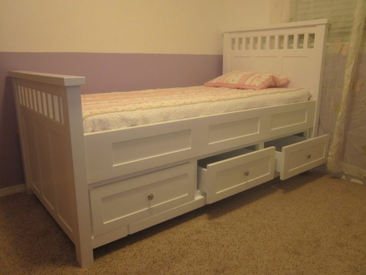 Twin Bed Frames With Drawers Underneath. Best 25  Bed frame with drawers ideas on Pinterest   Bed frame
