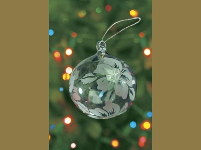 Best christmas etched glass ornaments images on