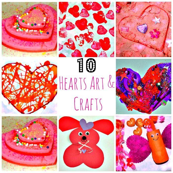 10 valentines day crafts and art activities for kids preschool valentine