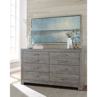 Shop for Signature Design by Ashley Culverbach Gray Dresser. Get free shipping at Overstock.com - Your Online Furniture Outlet Store! Get 5% in rewards with Club O! - 20866134