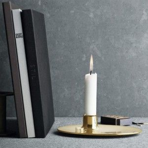 Ilse Crawford Brass Candlestick Remodelista