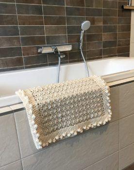 Haakpatroon Badmat Haak Ideeen Pinterest Crochet Crochet Home