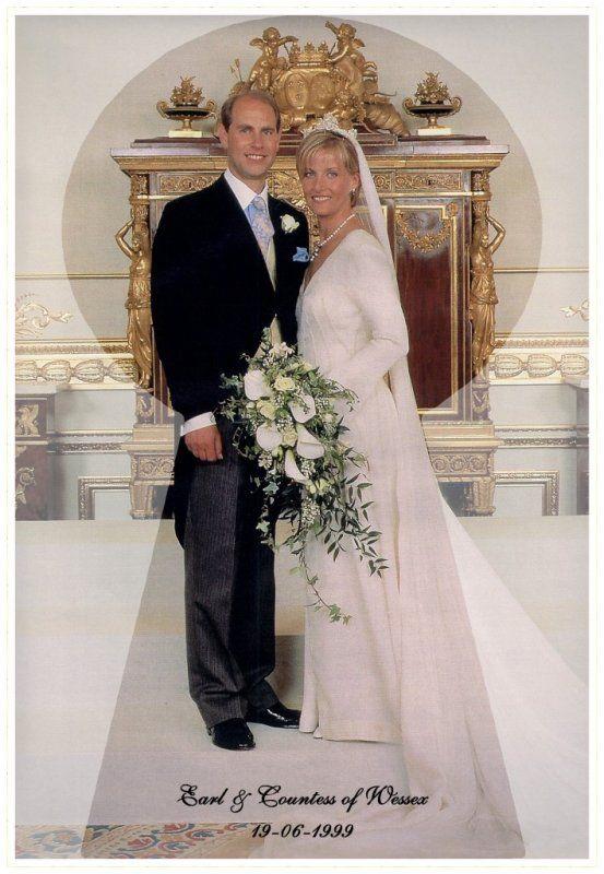 The Wedding Dress - Sophie Rhys- Jones _ Countess of  Wessex