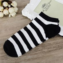 2017 FASHION  1Pairs Women And Men Comfortable Stripe Cotton Sock Slippers Short  Ankle Socks Y90830♦️ B E S T Online Marketplace - SaleVenue ♦️👉🏿 http://www.salevenue.co.uk/products/2017-fashion-1pairs-women-and-men-comfortable-stripe-cotton-sock-slippers-short-ankle-socks-y90830/ US $1.03