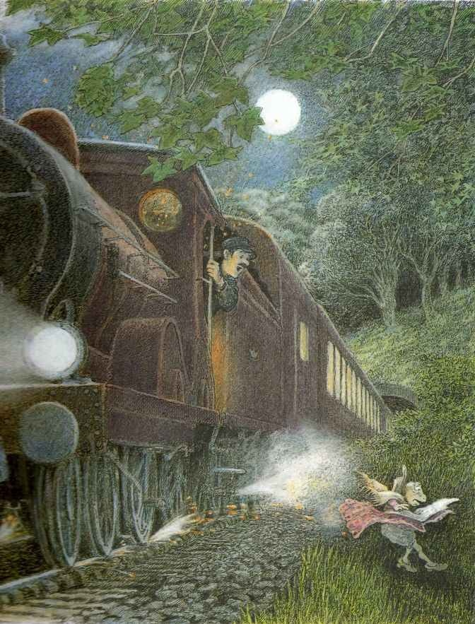 Children's / imaginative Illustrations: Inga Moore - Wind in the Willows contd
