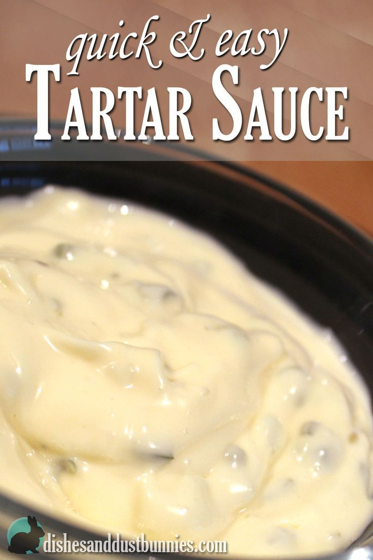 After having this quick and easy tartar sauce you'll ask yourself why you've been buying the pre-made kind for so long!