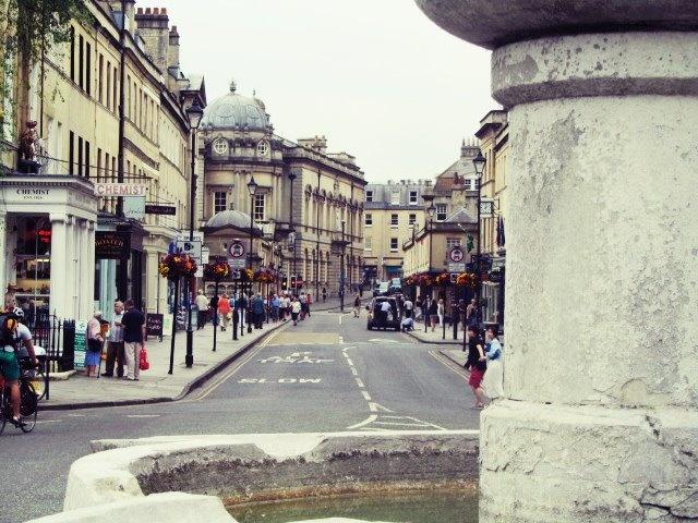 streets of Bath, United Kingdom