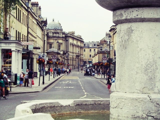 streets of Bath, United Kingdom