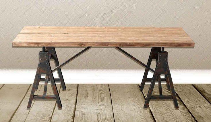 tavolo-stile-industriale-rettangolare