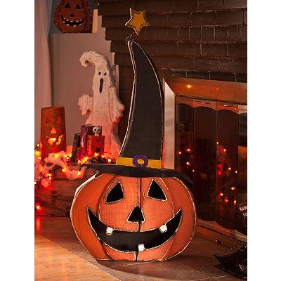 wooden jack o lantern 37 in sale 5999 halloween decorationshalloween craftsfall - Vintage Halloween Decorations For Sale