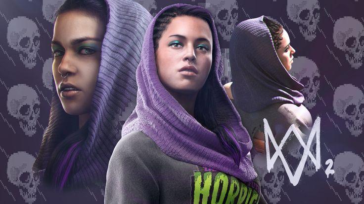 Sitara Dhawan (Dedsec) / Watch Dogs 2 #WatchDogs2 #SitaraDhawan #PC #PS4 #XboxOne #Ubisoft #shooter #Hacker #Dedsec