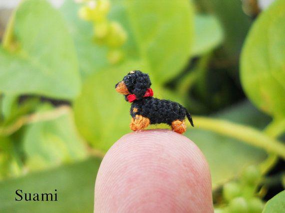 026 Pollici estrema Micro salsiccia cane bassotto  casa di SuAmi
