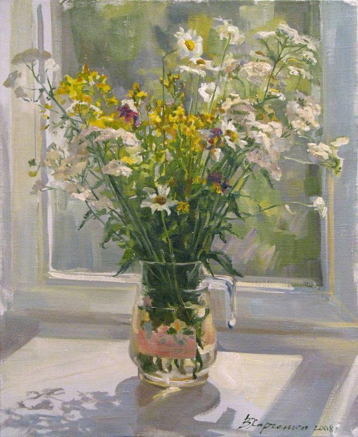 Харченко Виктория. Июльские цветы