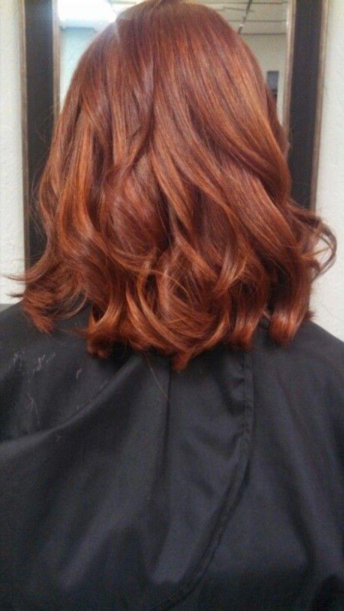 Kastanie haarfarben Welche Haarfarbe
