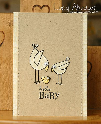 Hello Baby by Lucy Abrams, via Flickr