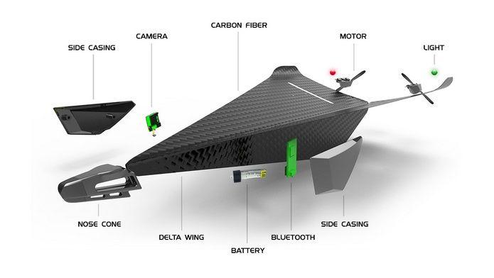 Carbon Flyer cea mai tare jucarie high-tech   NewParts Blog