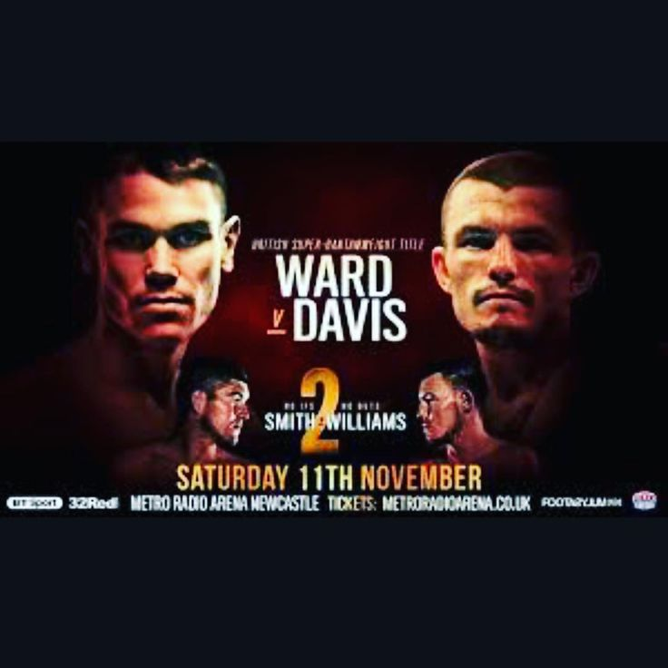 """Modern Day Gladiators  DONT MISS THIS FIGHT #SeanDavis vs #ThomasPatrickWard  Date: 11/11/17  Where: Nassau Coliseum #NewYork  Time EST: 4:00pm -------------------------------------------- WE PICK FIGHTS ALSO!!! UFC & BOXING (Some fights we choose not to make a pick on) ------------------------------------------------------------- FIGHT PASS $5  DM: """"Fight"""" TEXT: """"Fight"""" to 1-313-444-6712 -------------------------------------------------------- """"On the Road to Riches & Diamond Rings""""…"""