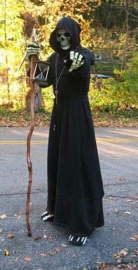 Mr.Death Grim Reaper Costume
