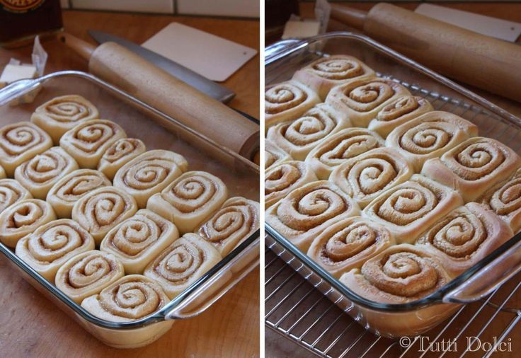 maple glazed cinnamon rolls